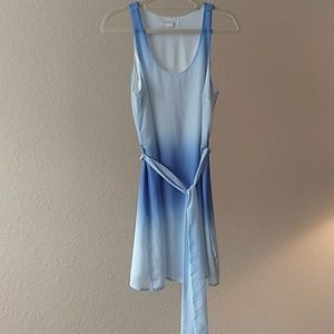 Forever 21 Blue Ombre Dress